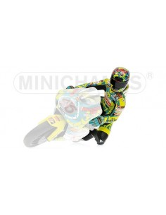 FIGURINE - RIDING - VALENTINO ROSSI - 250CCM GP MUGELLO 1999
