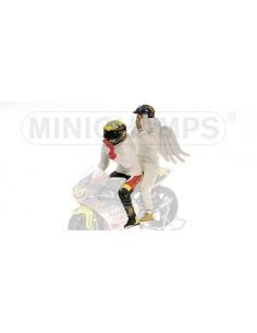 FIGURINE - VALENTINO ROSSI (+ ANGEL) - GP 250 RIO - 1999