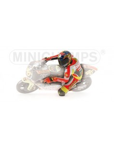 FIGURINE RIDING - VALENTINO ROSSI - WORLD CHAMPION - GP 250 1999