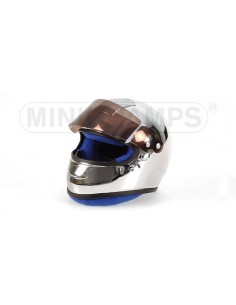 CHROMED HELMET F1 DRIVER