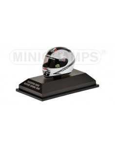 AGV HELMET - VALENTINO ROSSI - WORLD CHAMPION MOTOGP SEPANG - 2005