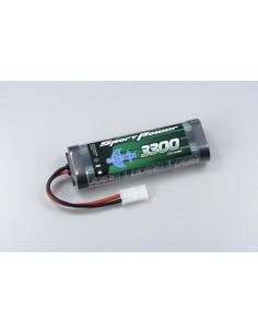 7.2V 3300 NiHM Sport Power - Tamiya plug