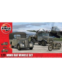 Airfix - WWII RAF Vehicle Set