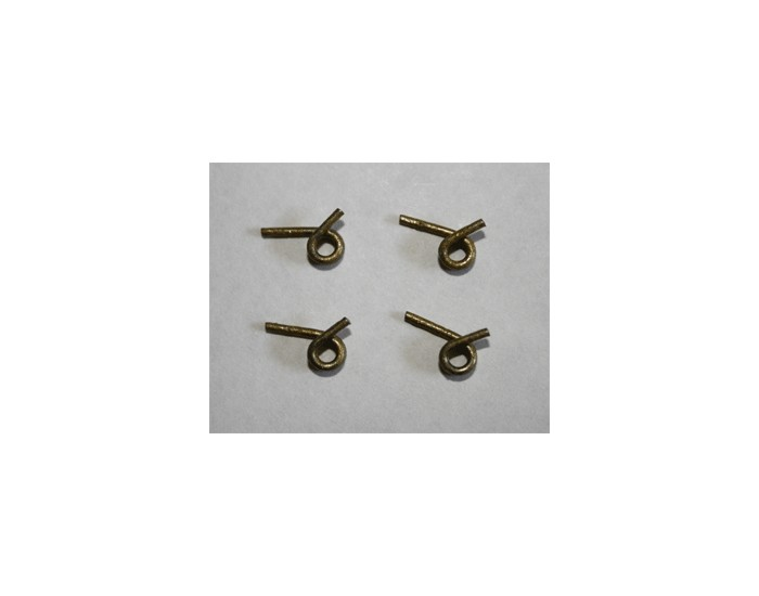 Effortless Clutch Springs 4 pcs. 1.0 Rate (Gold) (Ascendancy Racing)