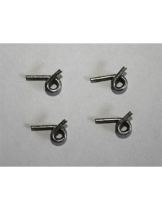 Effortless Clutch Springs - 4 pcs. - 1.1 Rate (Silver) (Ascendancy Racing)