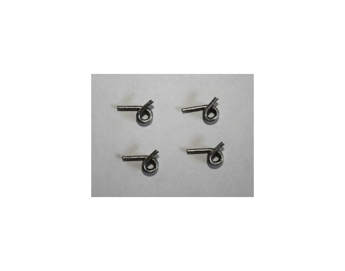 Effortless Clutch Springs 4 pcs. 1.1 Rate (Silver) (Ascendancy Racing)