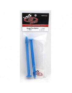 DE Racing - Buggy Tire Spikes (Azul) 2 Pcs.