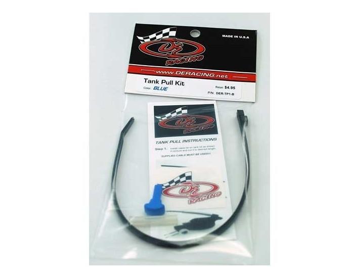 DE Racing - Tank Pull Kit (Blue)