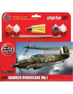 Airfix - Hawker Hurricane Mk.I Starter Set