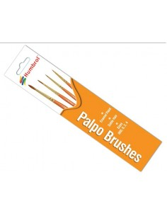 Humbrol - AG4250 - Humbrol - Palpo Brush Pack - Size 000/0/2/4  - Hobby Sector