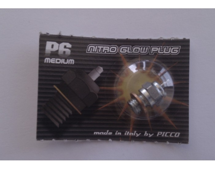PICCO Average Glow Plug 6