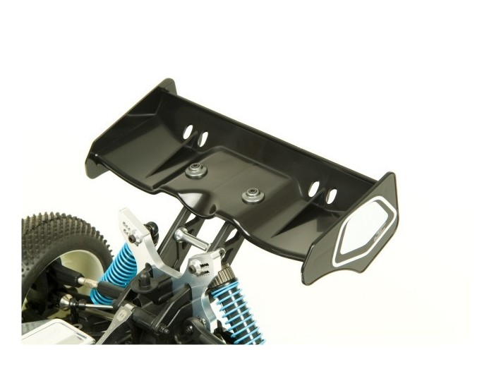 Illuzion 1/8th Buggy/Truggy Wing (Black) (JConcepts)