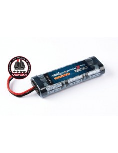 7.2V 5100 NiHM Rocket 2 Pack - Tamiya/Deans/TRX/EC3 Venom Plugs