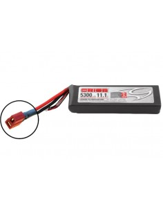 11,1V 5300 3S LiPo 50C - Deans Plug
