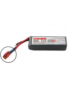 14,8V 4000 4S LiPo 50C - Deans Plug