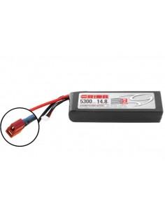 14,8V 5300 4S LiPo 50C - Deans Plug