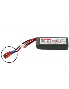 11,1V 1600 3S LiPo 50C - Deans Plug