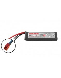 7,4V 5300 2S LiPo 50C - Deans Plug