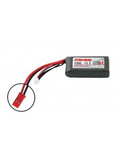 11,1V 1000 3S LiPo 50C - JST Plug