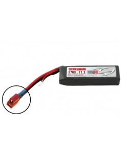 11,1V 2700 3S LiPo 50C - Deans Plug