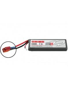 7,4V 4400 2S LiPo 50C - Deans Plug