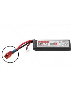 7,4V 2700 2S LiPo 50C - Deans Plug
