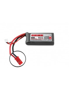 11,1V 800 3S LiPo 50C - JST Plug
