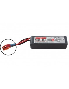 18,5V 5300 5S LiPo 50C - Deans Plug
