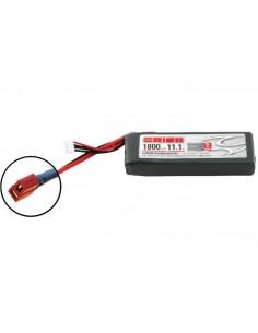 11,1V 1800 3S LiPo 50C - Deans Plug