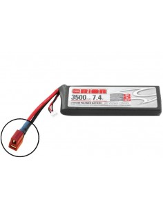 7,4V 3500 2S LiPo 50C - Deans Plug
