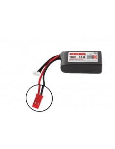 14,8V 1000 4S LiPo 50C - JST Plug