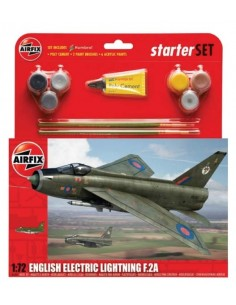 Airfix - English Electric Lightning F.2A Starter Set