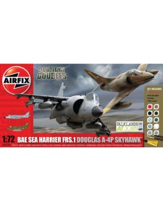 Airfix - BAE Sea Harrier FRS.1 and Douglas A-4P Skyhawk Dogfight Doubles Gift Set