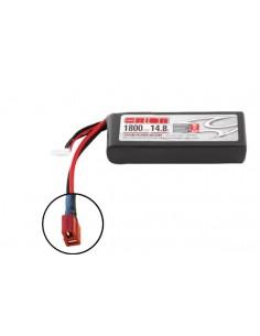 14,8V 1800 4S LiPo 50C LED - Deans Plug