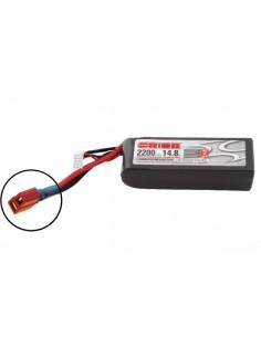14,8V 2200 4S LiPo 50C LED - Deans Plug