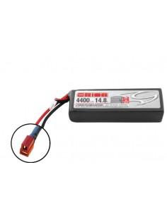 14,8V 4400 4S LiPo 50C LED - Deans Plug
