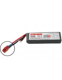 11,1V 3500 3S LiPo 50C LED - Deans Plug