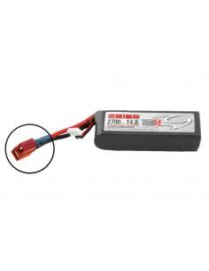 14,8V 2700 4S LiPo 50C LED - Deans Plug