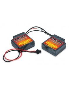 7.4V 1500mAh LiPo 20C Carbon - Micro Plug