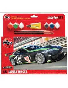 Airfix - Jaguar XKR GT 'Fantasy Scheme' Starter Set