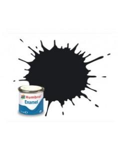Humbrol - AA0237 - 21 Black Gloss - 14ml Enamel Paint  - Hobby Sector