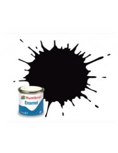 85 Coal Black Satin - 14ml Enamel Paint