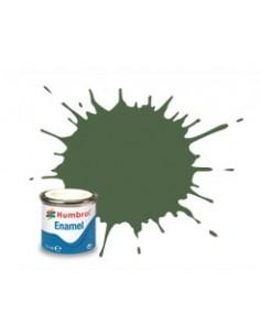 Humbrol - AA1290 - 117 US Light Green Matt - 14ml Enamel Paint  - Hobby Sector