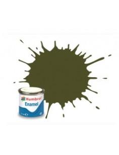 Humbrol - AA1688 - 155 Olive Drab Matt - 14ml Enamel Paint  - Hobby Sector