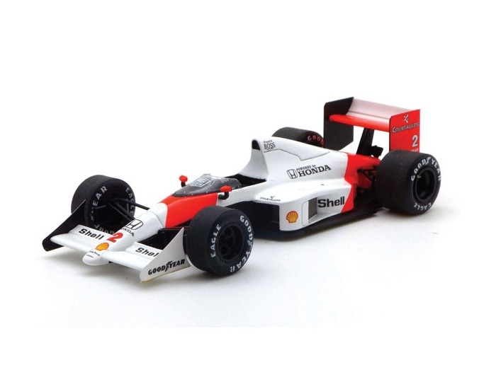 McLaren MP4/5 Nr.2 Prost Winner French GP 1989