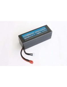 22.2V 3300mAh 6S LiPo 40C Carbon Molecular - Deans Plug