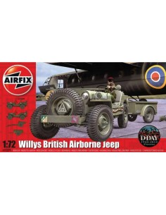 Airfix - Willys British Airborne Jeep