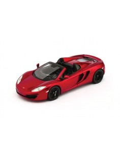 McLaren MP4-12C Spider LHD 2012 - Volcano Red