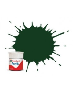 3 Brunswick Green Gloss - 12ml Acrylic Paint