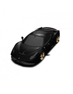 Ferrari 458 Speciale 2013 - Matte Black with Gold Rims